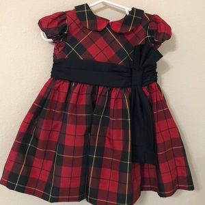 Plaid Ralph Lauren infant special Occassion dress